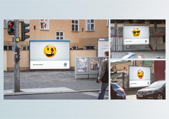 Affiches de sécurité routière pour Volkswagen