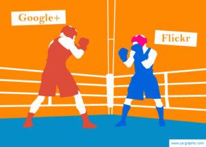 Google+ ou Flickr : quel réseau social choisir