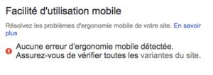 Compatibilité mobile