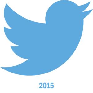 Les chiffres officiels de Twitter en 2015