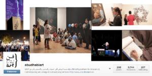 Abu Dhabi Art dans Instagram