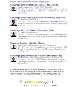 Photos de Larry Page dans Google Images