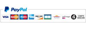 Moyens de paiement Paypal