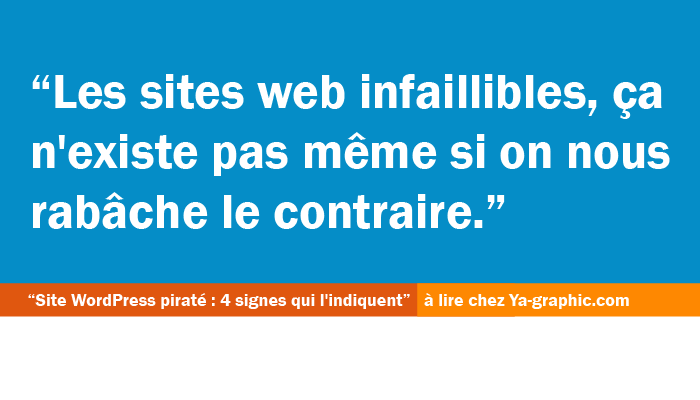 Sites web infaillibles