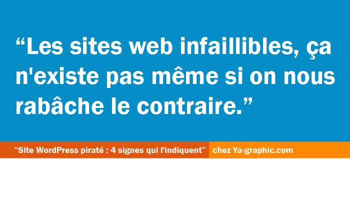 Sites web infaillibles
