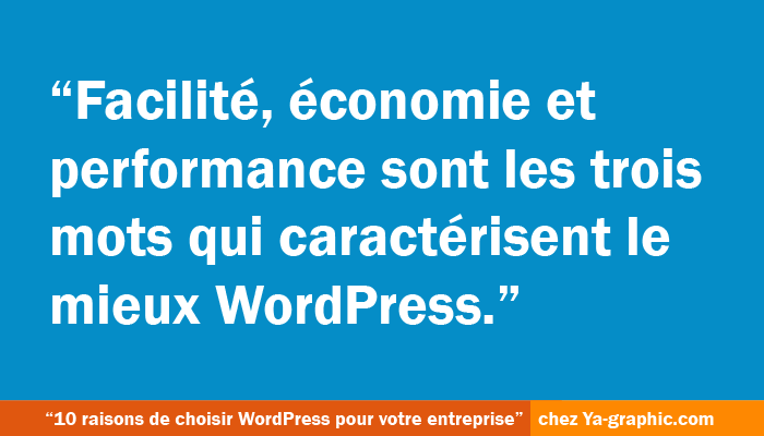 10 bonnes raisons de choisir WordPress