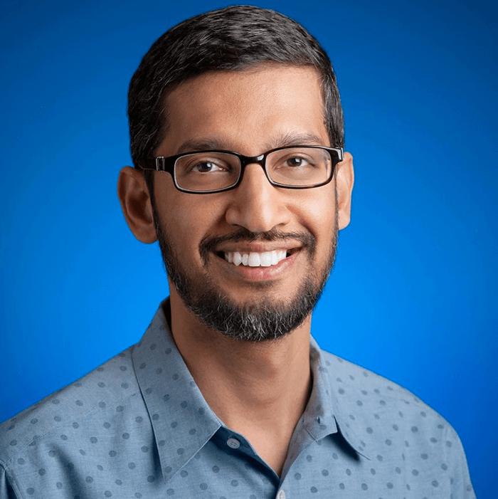 Sundar Pichai, PDG de Google