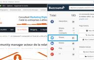 L'extension Chrome Buzzsumo n'affiche pas le vrai nombre de partages Twitter