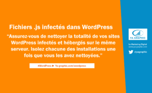 Fichiers Javascript infectés dans WordPress