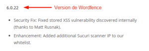 Wordfence touché par une faille XSS