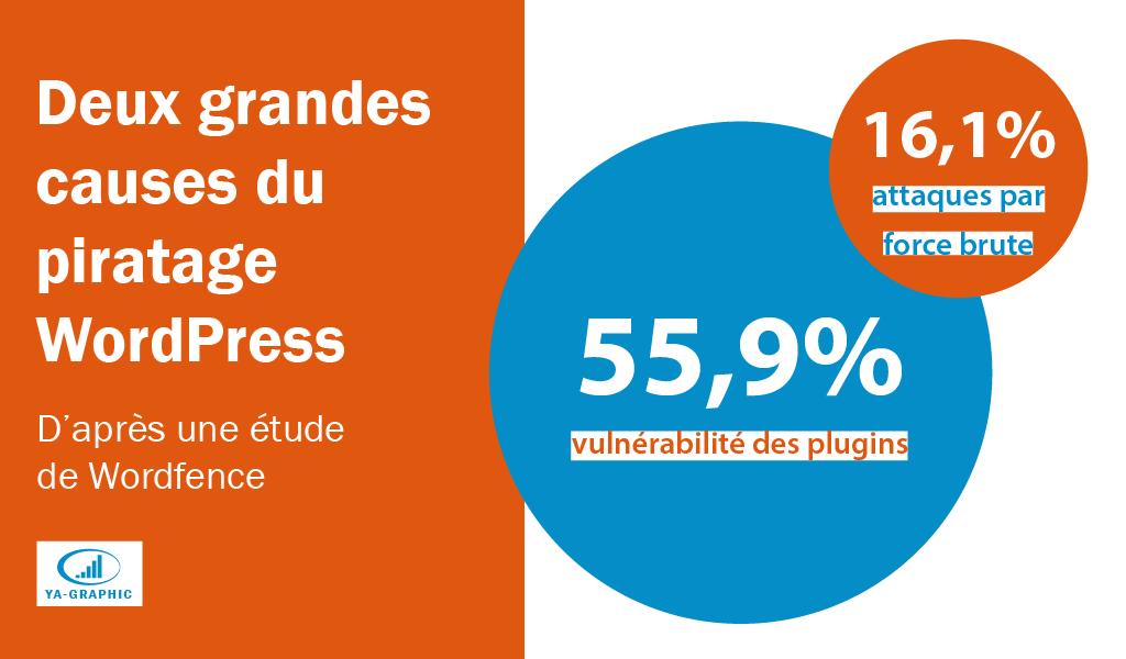 Causes du piratage de sites WordPress