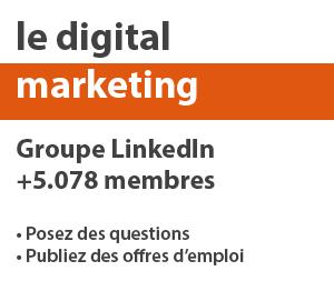 Groupe LinkedIn Le Digital Marketing
