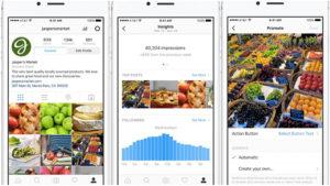 Outils pour les profils Instagram pour entreprises