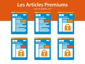 Les Articles Premiums de Référencement Web