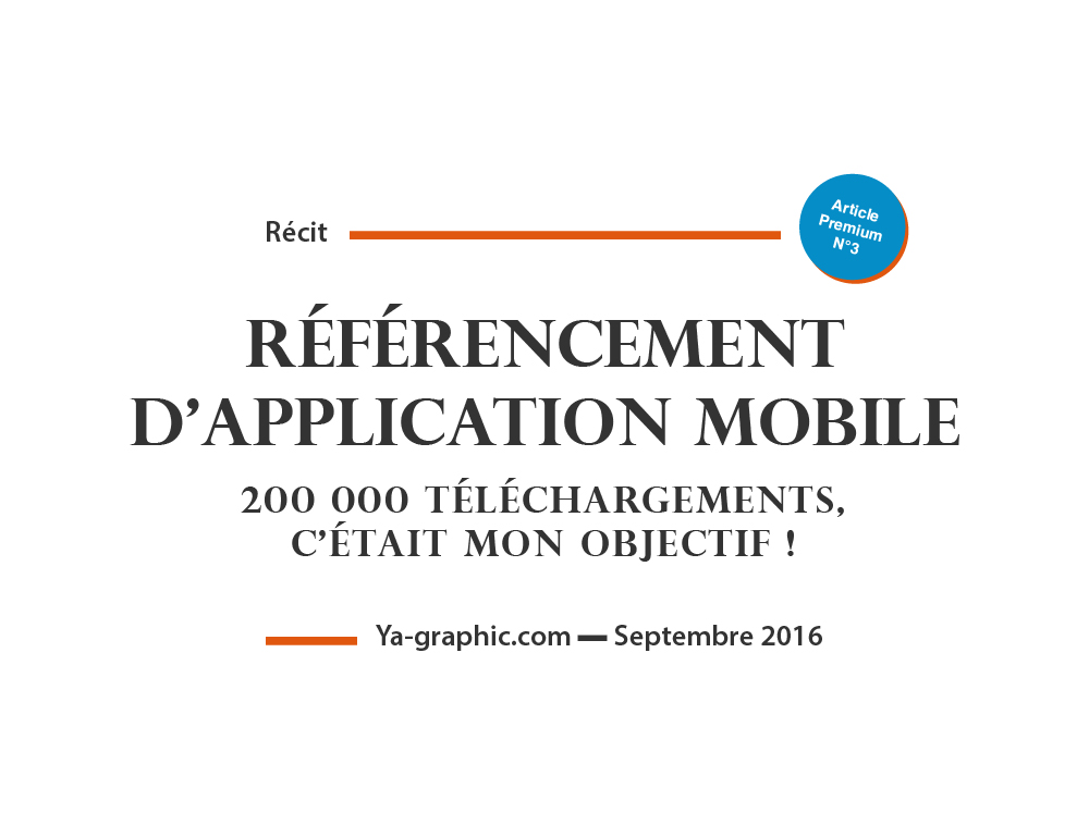 Référencement d'Application Mobile
