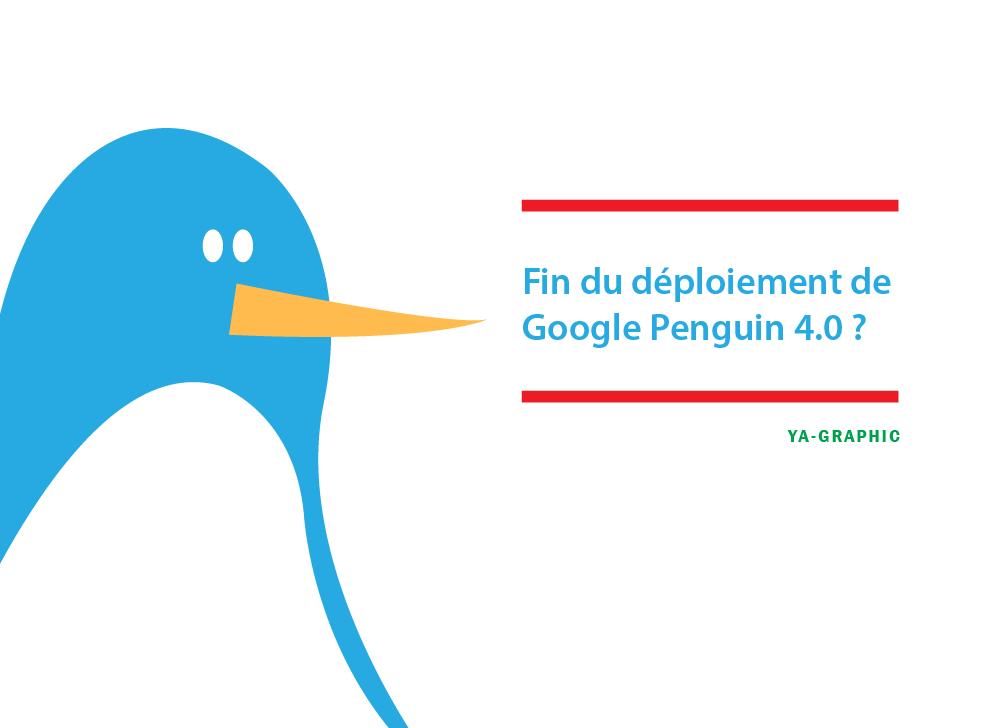 Déploiement de Google Penguin 4.0 terminé - chez Ya-graphic