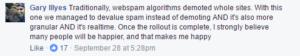Gary Illyes explique Penguin 4.0 dans Facebook