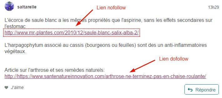 Lien Dofollow / Nofollow