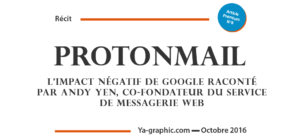 ProtonMail, l'impact négatif de Google sur le taux de croissance de la messagerie web chiffrée