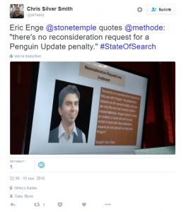 Demande de réexamen Google Penguin