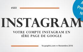 Votre Compte Instagram en 1ère Page de Google (Tutoriel SEO)
