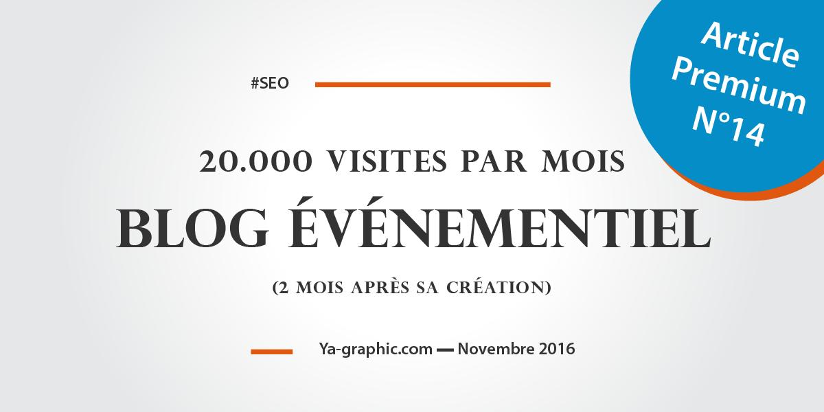 Ya-graphic : 20 000 visites par mois pour un blog événementiel