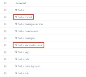 Requêtes de recherche pour la marque Findus