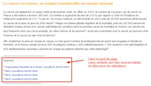 Liens sortants d'une page de Bmsfrance.fr