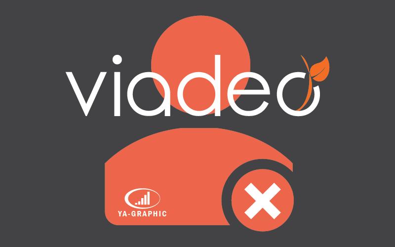 Compte Viadeo supprimé