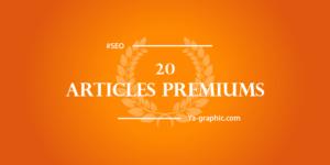 Ya-graphic : 20ème Article Premium de Formation SEO