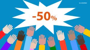 Soldes chez Ya-graphic : Réduction de 50% pour les 30 premiers inscrits