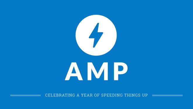 1er Anniversaire de Google AMP