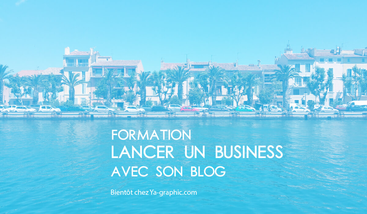 Formation : Lancer un Business sur Internet avec un blog WordPress