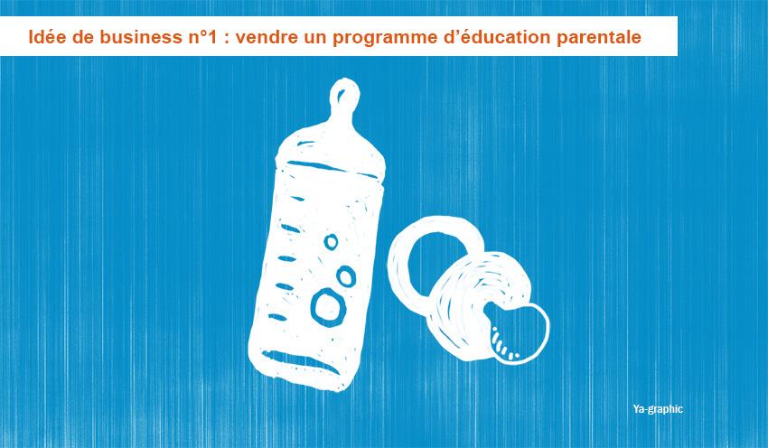 Idée de business n°1: vendre un programme d'éducation parentale. Ya-graphic
