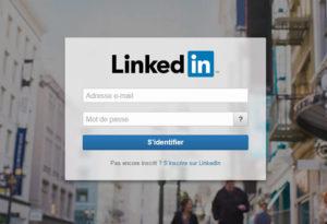 S'identifier dans LinkedIn