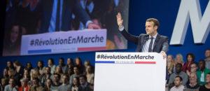 Discours d'Emmanuel Macron à la porte de Versailles