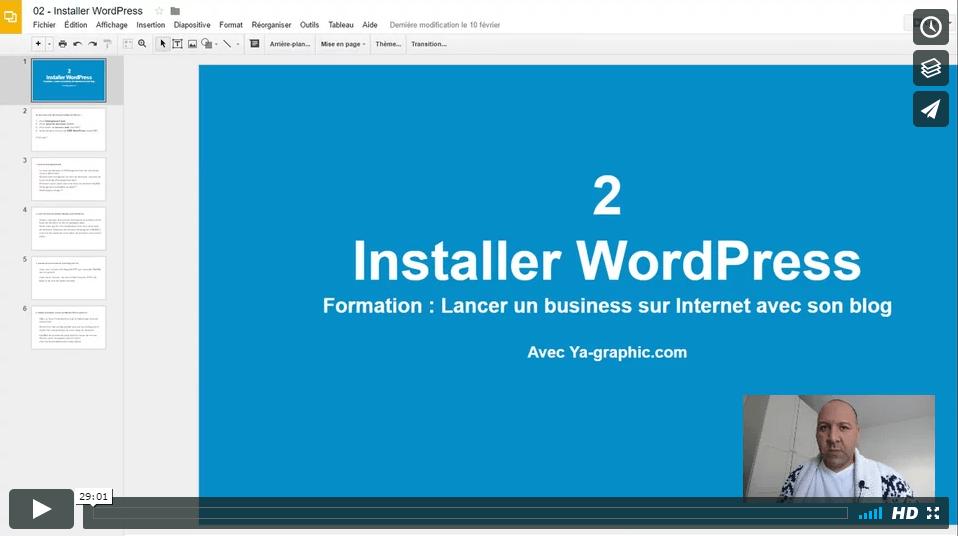 02 - Installer le CMS WordPress
