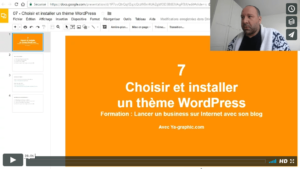 07 - Choisir et installer un thème WordPress