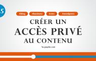 Comment rendre privé 90% d'un article sur WordPress (Module n°12.5)