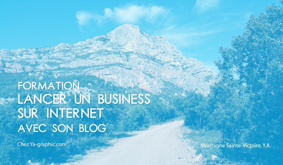 """Formation """"Lancer un business sur Internet avec son blog"""" chez Ya-graphic"""