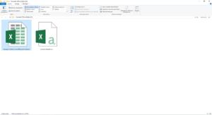 Ouvrir un nouveau document Excel