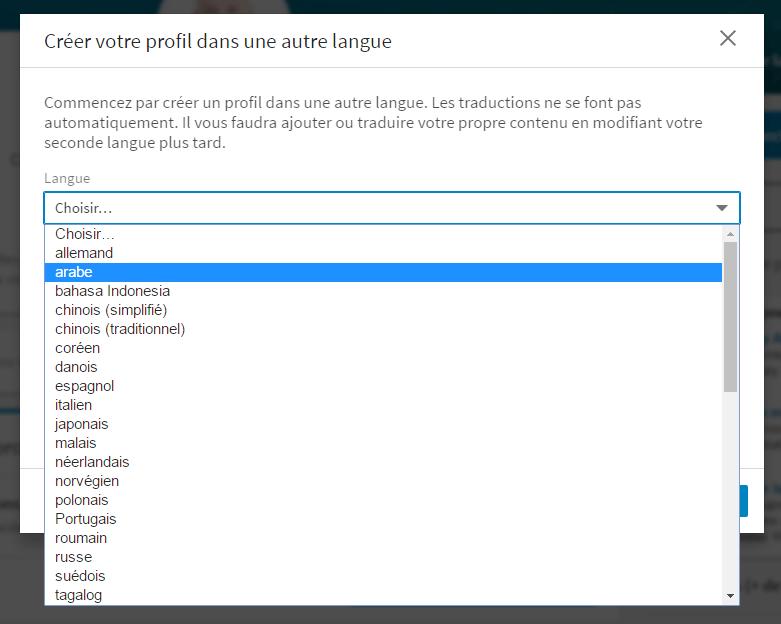 profil-linkedin-langue-etrangere