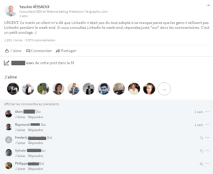 Est-ce que les gens utilisent LinkedIn le week-end ?