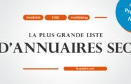 La plus grande liste d'annuaires SEO (année 2018)