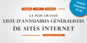 Liste d'annuaires de sites Internet