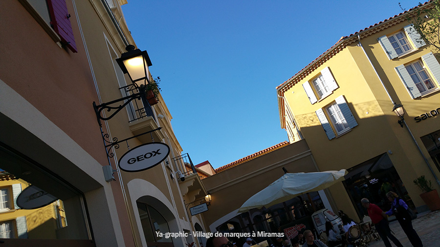 Boutique Geox au village de marques à Miramas