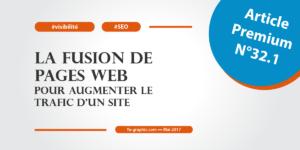 La fusion de pages web pour augmenter le trafic d'un site