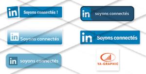 Boutons LinkedIn à télécharger