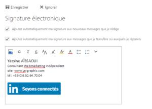 Signature Outlook.com