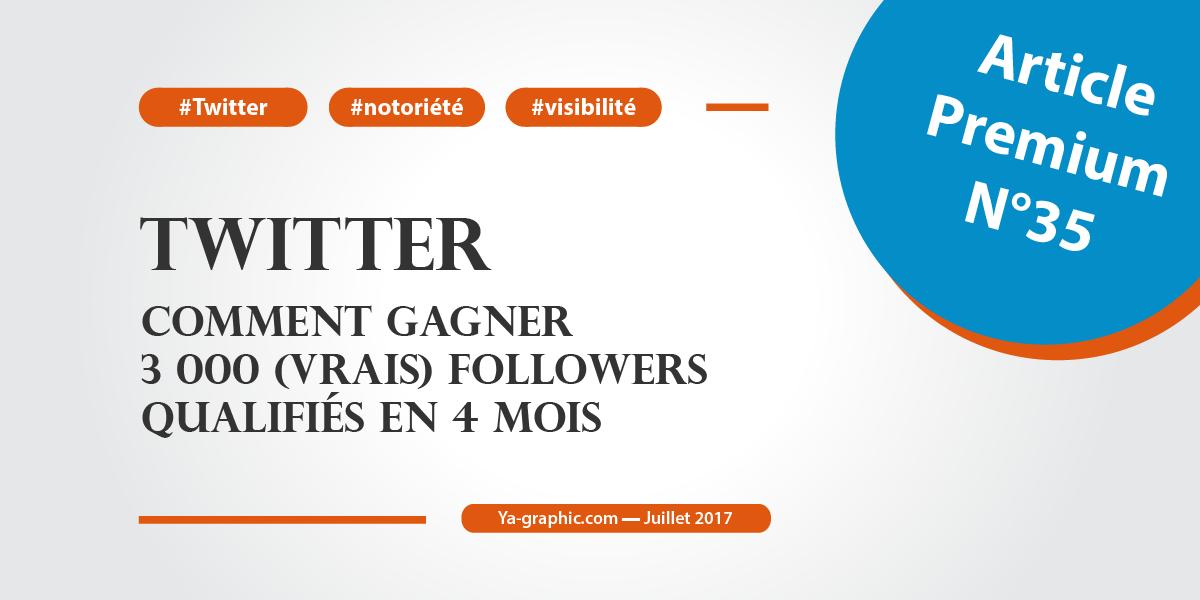 Gagner 3 000 (vrais) followers qualifiés en 4 mois sur Twitter